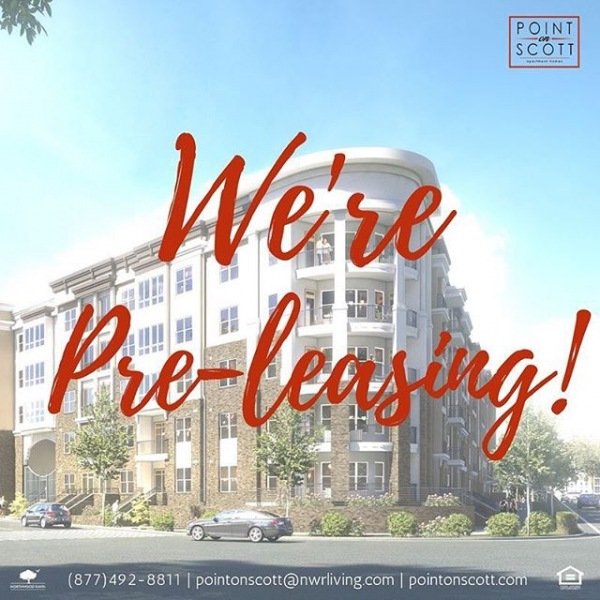 Exciting news- we're pre-leasing!